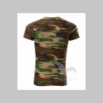"""Tričko Camouflage """"zelenohnedý maskáč"""" pánske 100% bavlna 160 g/m2"""