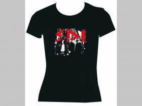S.D.I. čierne dámske tričko 100%bavlna