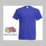 Vylez mi na hrb! pánske tričko s obojstrannou potlačou 100%bavlna značka Fruit of The Loom
