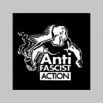 Antifascist Action trenírky BOXER s červenými prúžkami, top kvalita 95%bavlna 5%elastan