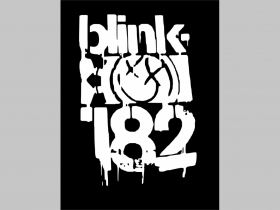 Blink 182 chrbtová nášivka veľkosť cca. A4 (po krajoch neobšívaná)