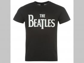 691572b0e0af The Beatles čierne pánske tričko 100%bavlna