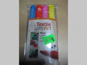 Fixky na textil 1 sada - svetlejšie odtiene