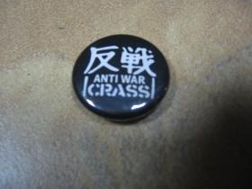 Crass, odznak, priemer 25mm