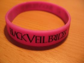 Black Veil Brides  pružný gumenný náramok s vyrazeným motívom