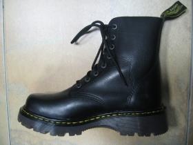 T-REX 8.dierkové čierne topánky z pravej kože najvyššej akosti - TOP KVALITA!!!