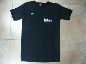 Hooligan  čierne dámske tričko 100%bavlna  posledný kus veľkosť S
