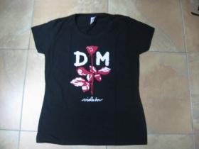 Depeche Mode - Violator  čierne dámske tričko 100%bavlna