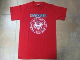 Ramones pánske tričko 100%bavlna