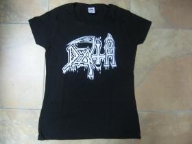 Death dámske čierne tričko 100%bavlna