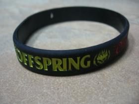Offspring pružný silikónový náramok s vyrazeným motívom