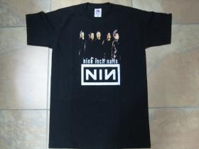 Nine Inch Nails čierne pánske tričko 100%bavlna
