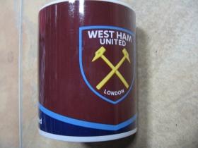 West Ham United porcelánový pohár s objemom cca. 0,33l