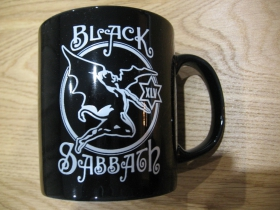 Black Sabbath porcelánový pohár - šálka s uškom, objemom cca. 0,33L