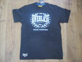 Everlast pánske tričko tmavošedé materiál 100%bavlna