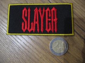 Slayer  nažehľovacia nášivka vyšívaná (možnosť nažehliť alebo našiť na odev)