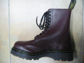 T-REX 10.dierkové bordové topánky z pravej kože najvyššej akosti - TOP KVALITA!!!