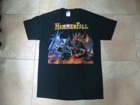 Hammerfall čierne pánske tričko 100%bavlna