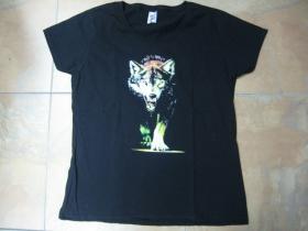 Vlk  dámske tričko Fruit of The Loom 100%bavlna