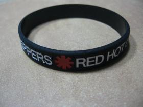 Red Hot Chili Peppers pružný silikónový náramok s vyrazeným motívom