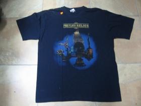 Pink Floyd tmavomodré pánske tričko 100%bavlna