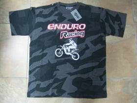 """Enduro Racing nočný """" ruský """" maskáč-Nightcamo SPLINTER, pánske tričko 100%bavlna"""