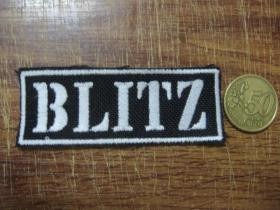 Blitz vyšívaná nášivka - posledný kus!!!