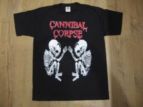 Cannibal Corpse čierne pánske tričko materiál 100%bavlna