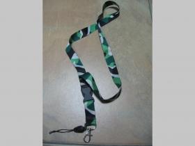 Zelený metro maskáč kľúčenka