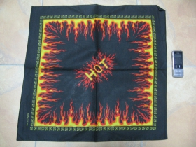 Flames, Šatka 100%bavlna, cca.52x52cm