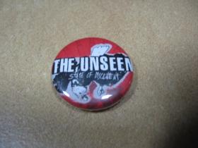 The Unseen, odznak, priemer 25mm