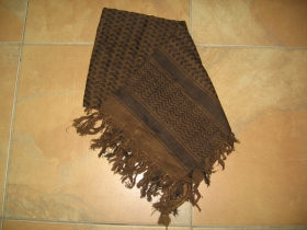 Arafatka hrubá hnedočierna 100%bavlna