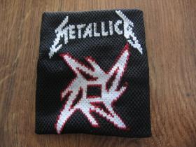 Metallica potítko 75%bavlna, 15%spandex, 10%nylon