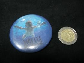 Nirvana Nevermind odznak veľký, priemer 55mm