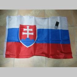 Slovenská vlajka Slovensko - Slovakia stredne veľká cca 90x60cm