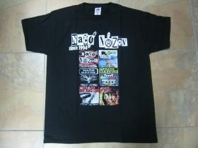 Načo Názov since 1994  čierne pánske tričko 100%bavlna značka Fruit of The Loom