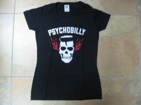 Psychobilly   dámske tričko Fruit of The Loom 100%bavlna