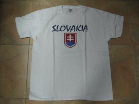 Slovakia - Slovensko pánske tričko 100%bavlna značka Fruit of The Loom