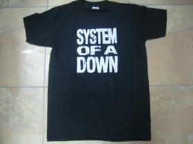 System of a Down čierne pánske tričko 100%bavlna