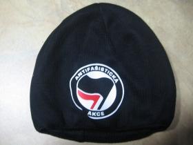 Antifašistická akce zimná čiapka 100%akryl univerzálna veľkosť, zvnútra zateplená tlačené logo
