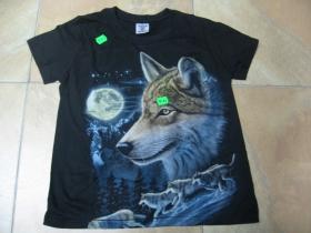 Vlk detské tričko 100%bavlna
