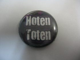 HT - Hoten Toten plechový klasický odznak s priemerom 25mm