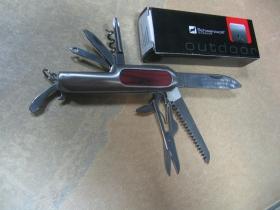 SCHWARZWOLF HUNTER vreckový nôž 9 funkcií