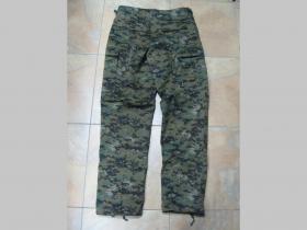 Kapsáčové nohavice BDU, Digital tmavý 65%polyester 35%bavlna
