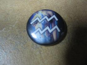 znamenie vodnár, odznak priemer 25mm