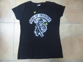 Sons of Anarchy čierne dámske tričko 100%bavlna
