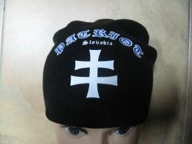 Patriot Slovakia Zimná čiapka na založenie v zátylku s tlačeným logom univerzálna veľkosť 65%akryl 35%vlna