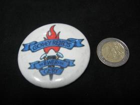 Cockney Rejects odznak veľký, priemer 55mm