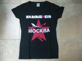 Rammstein čierne dámske tričko 100%bavlna