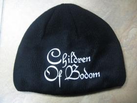 Children Of Bodom, zimná čiapka s tlačeným logom  100%akryl univerzálna veľkosť